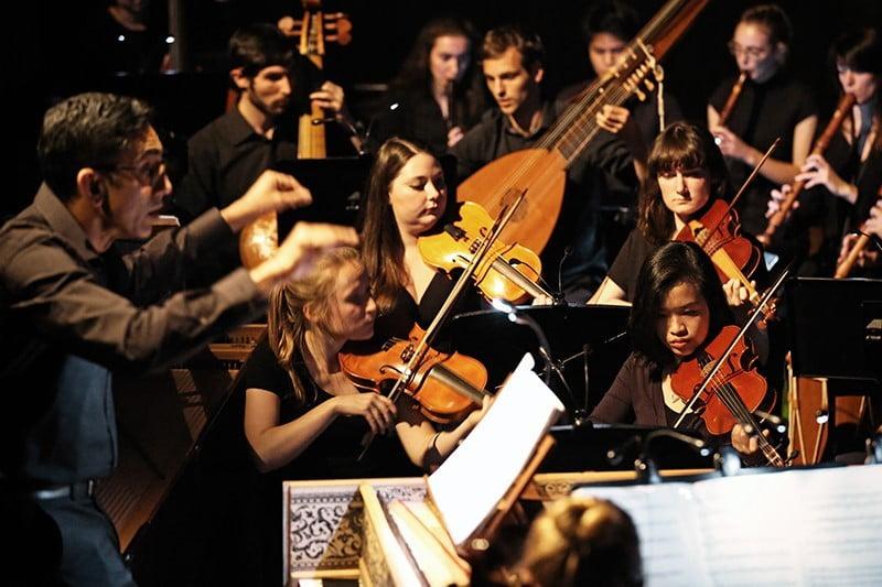 The Con's Early Music Ensemble on Tour